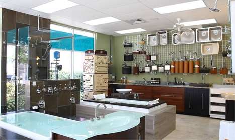 Coral Gables Plumbing Showroom