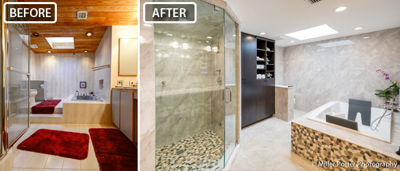 South Miami Bathroom Remodel Before And After Gallery