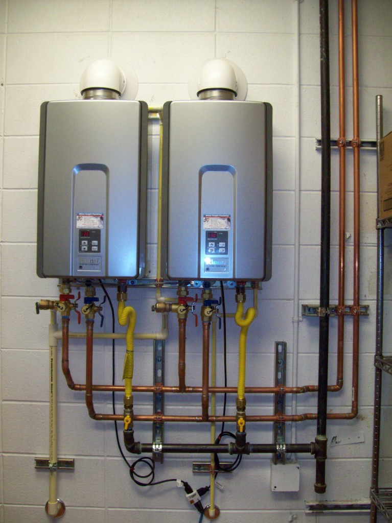 Tankless Water Heaters Miami Rinnai Titan Rheem