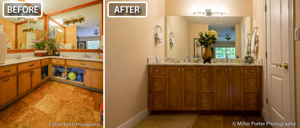 South Florida Bathroom Remodel Before And After Photo